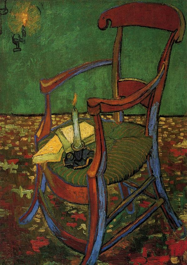 Van Gogh, Vincent: Paul Gauguin's Armchair. Fine Art Print/Poster. Sizes: A4/A3/A2/A1 (001530)